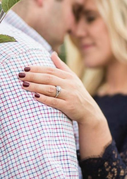 Guy and girl engagement photos, Natural Bliss Photography