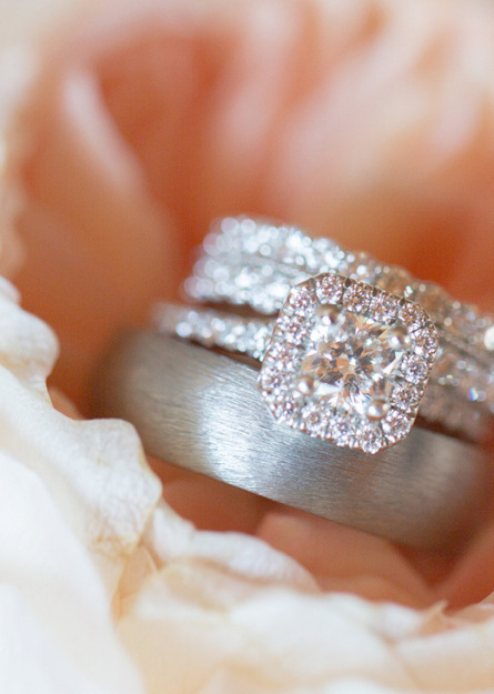 Hearts On Fire wedding rings