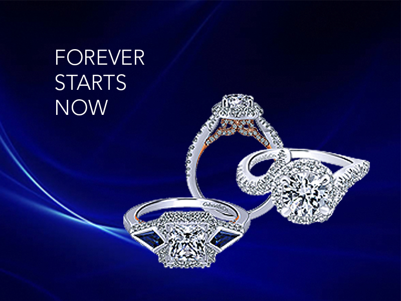 Tacori rings on invitations