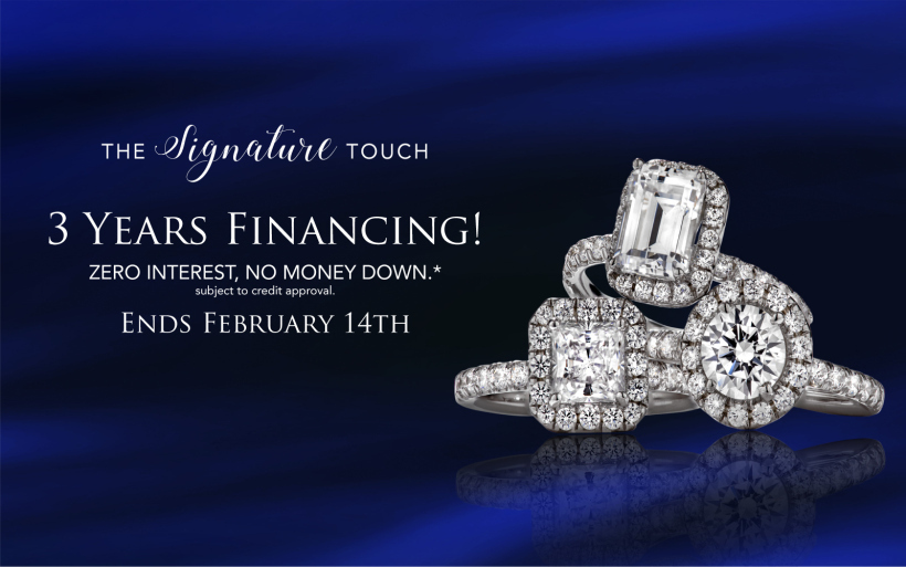 Financing engagement rings