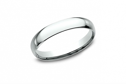 14K White Gold Wedding Band - LCF13014KW05