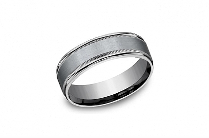 Tantalum Wedding Band - RECF7701SGTA10