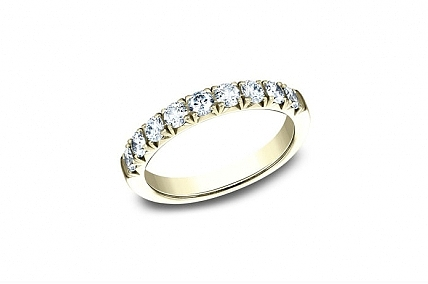 14K Yellow Gold Diamond Wedding Band - 59317314KY07