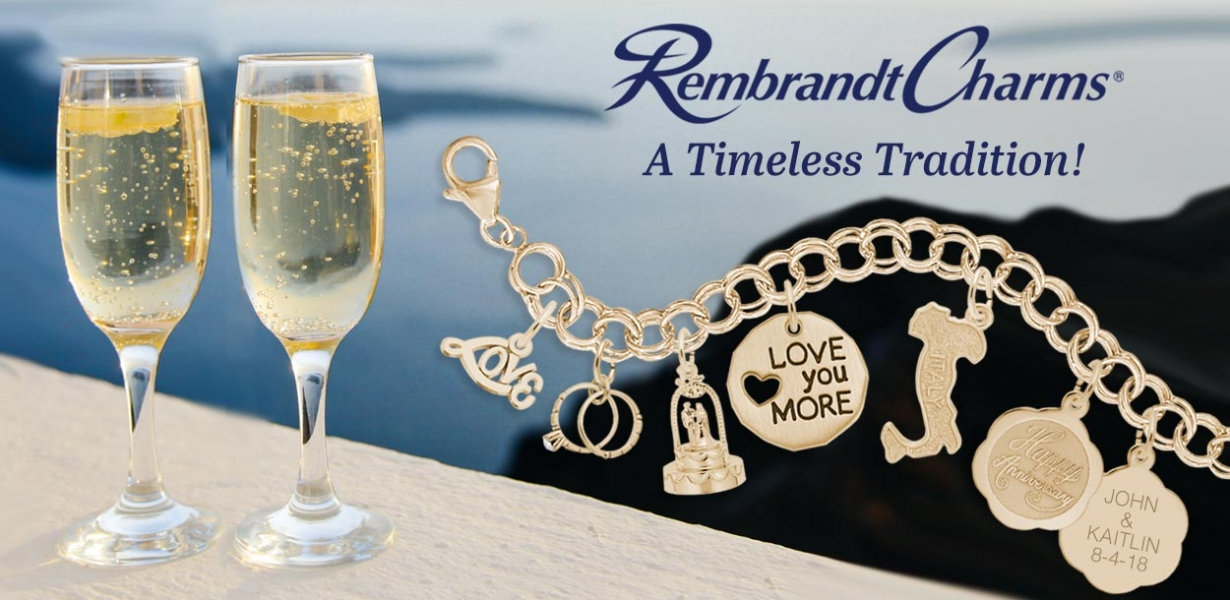 Rembrandt Anniversary charms
