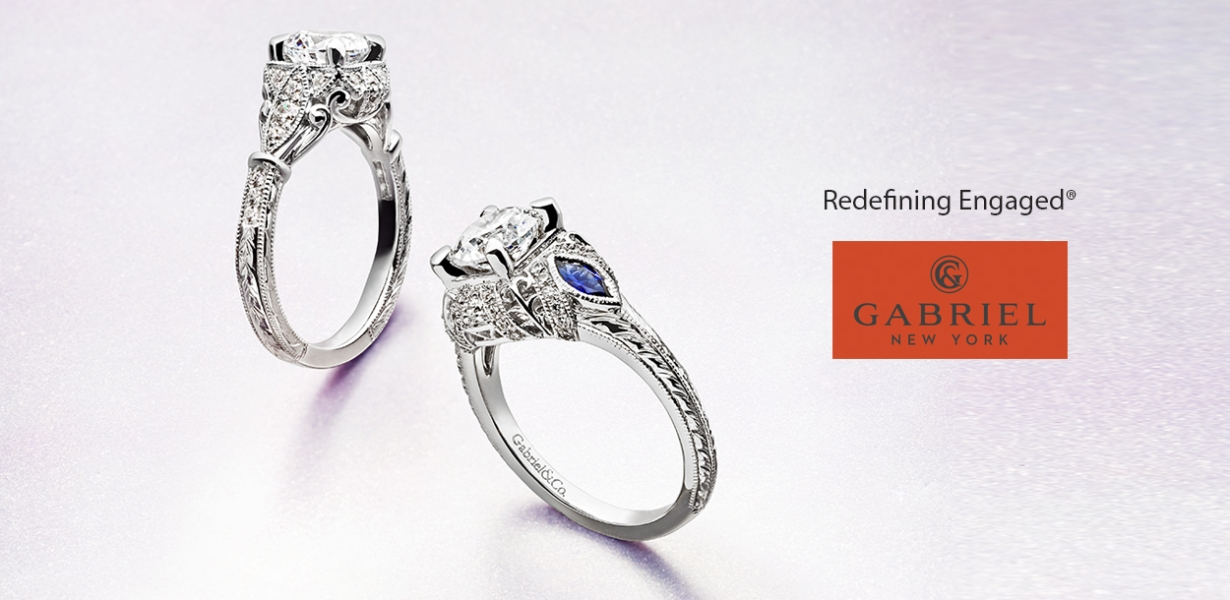 Gabriel engagement rings