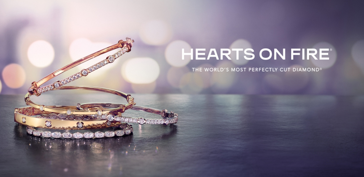 Hearts On Fire Bangles